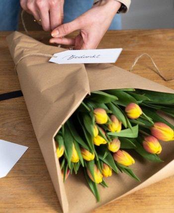 DIY 1 - Pak je bostulpen in zoals een echte bloemist